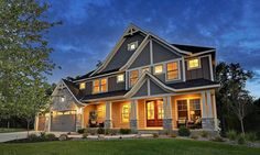 Craftsman Jaw-Dropper - 73325HS | Architectural Designs - House Plans