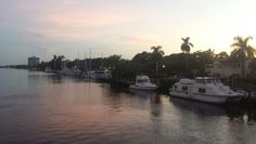 Delray Beach Intracoastal waterway with Carolyn Boinis real estate Broker in Boca Raton www.CarolynBoinis.com
