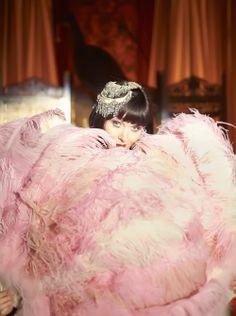 """""""Fan Dance"""" ~ Essie Davis as Phryne Fisher in Miss Fisher's Murder Mysteries"""