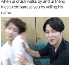 20 lmao relatable – California Memes 'lmao' is an Internet slang, meaning laughing my ass off. It is not contemplate an 'official' word, and can be connected with the words 'lol' and 'ROFLR… Memes Bts Español, Bts Meme Faces, Bts Memes Hilarious, Funny Relatable Memes, Blackpink Funny, Kdrama Memes, Funny Crush Memes, Crush Humor, K Pop