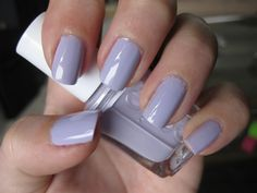 paint my nails in essie lilacism