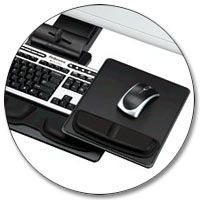 Fellowes Professional Series Executive Keyboard Tray Product Shot  $202.99 Amazon.com