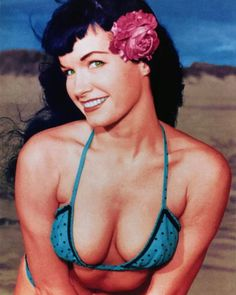 Why is everybody obsessed with Marilyn Monroe? Bettie page was way more interesting and dare I say it... attractive...