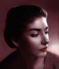 Maria Callas - hand colored by Angus McBean Maria Callas, Billie Holiday, Opera Software, Divas, Music Theater, Theatre, Actrices Hollywood, Music Icon, Music Maniac