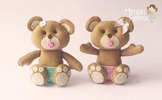 Ursinhos para o quarto da Pietra