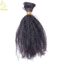 Mongolian Virgin Human Hair Afro Kinky Curly Bulk Hair 100g 100% Human Braiding Hair Bulk Dreadlock Twist Braid Hair-in Human Hair Extensions from Health & Beauty on Aliexpress.com | Alibaba Group