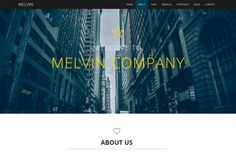 Melvin - Business Template by Slongrad on Creative Market