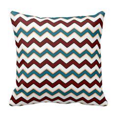 Chevron Pattern Throw Pillows