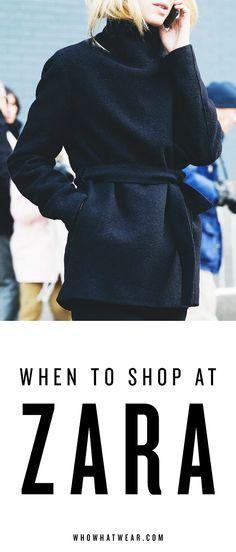 Here's how to get Zara's best merchandise, always.