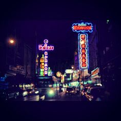 Neon lights in #Chinatown #BKK #Bangkok #Krungthep #Thailand - @ruben_i- #webstagram #instagram