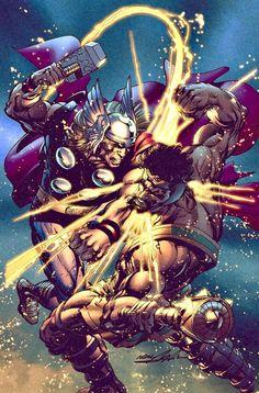 Thor vs Herc