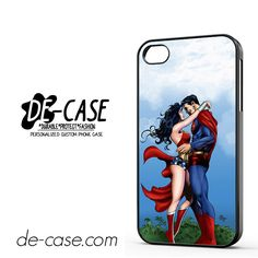 Center Camera Superman And Wonderwoman DEAL-2486 Apple Phonecase Cover For Iphone 4 / Iphone 4S