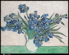 Vincent van Gogh (Dutch,1853–1890). Irises, 1890. The Metropolitan Museum of Art, New York. Gift of Adele R. Levy, 1958 (58.187) #spring