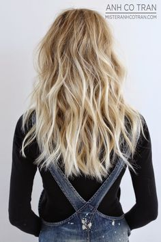 LIVED IN HAIR™. Cut/Style: Anh Co Tran • IG: @anhcotran • Appointment inquiries please call Ramirez|Tran Salon in Beverly Hills at 310.724.8167.