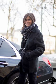 Emmanuelle Alt ... Street Style