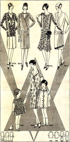 Is there anything to be gleaned from the fashion of the '20's-'30's, that could help shape the coming fashions of Winter, 2012?