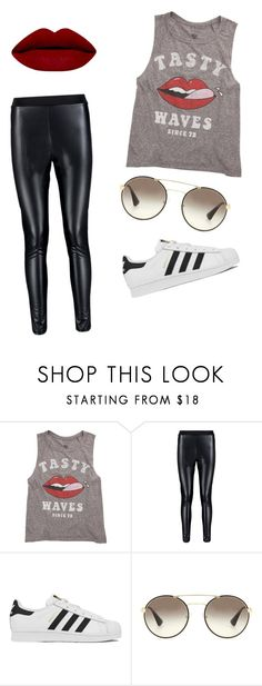 """""""aight..."""" by zoey-boo on Polyvore featuring Billabong, adidas, Prada, women's clothing, women, female, woman, misses, juniors and createdbyzoey"""