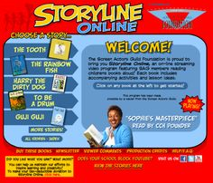 The Screen Actors Guild (SAG) Foundation's 'Storyline Online' Program.    Famous actors from Betty White to Amanda Bynes, James Earl Jones to Elijah Wood!  This is a great resource full of excellent story choices.
