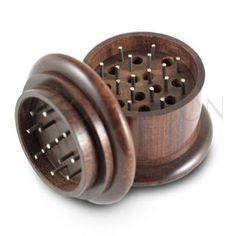3-Piece 50mm Wood Grinder - 24% Discount  http://www.cannabis-discounts.com/vapornation/3-piece-50mm-wood-grinder-24-discount