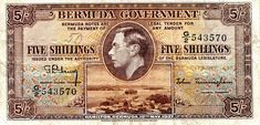 5 Shillings  F Banknote
