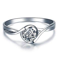 Forever Brilliant Round Moissanite Engagement by ldiamondsforever