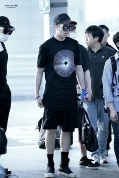 [AIRPORT] 160617: BTS Rap Monster (Kim Namjoon) #bts #bangtan #bangtanboys…