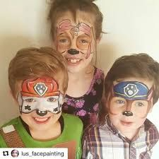 Image result for paw patrol skye face paint