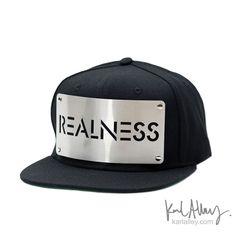 Realness Snapback Hat - Karl Alley Original Hardware