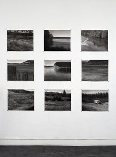 (Past) Underneath, solo show Ron Mandos Gallery Amsterdam - Renie Spoelstra Charcoal Drawings, Amsterdam, Past, Photo Wall, Artists, Gallery, Past Tense, Photograph, Roof Rack