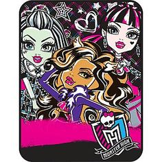 Monster High Throw Blanket
