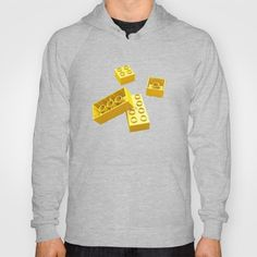 Duplo Yellow Hoody #lego #duplo #render #cgi #cg #c4d #3d #yellow #rickardarvius #hoodie #cinema4d #fashion #society6 #society6store