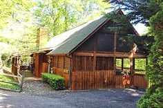 Hunters Lodge -- This cozy 1 bedroom cabin has all of the modern comforts of home, including wireless internet.
