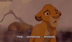 When Mufasa died:
