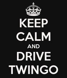 KEEP CALM AND DRIVE TWINGO