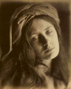 19th century, julia margaret cameron, portrait, sepia, victorian, woman