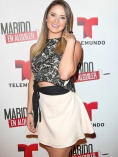 Actrices de telenovelas. Kimberly Dos Ramos