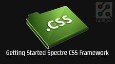 Spectre.css – A lightweight, responsive and modern CSS framework