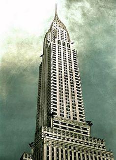 Chrysler Building - Circa 1930 NYT Store