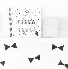 9 maanden dagboek + muurstickers www.photogeniki.nl
