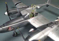 Lockheed P-38 Lightning 1/48 Scale Model