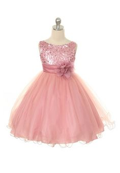 Kids Formal Flower Girl Dresses - Kids Formal Flower Girl Dress.. this one might be perfect!