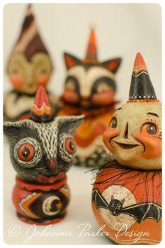 Halloween-Friends by Johanna Parker Design, via Flickr