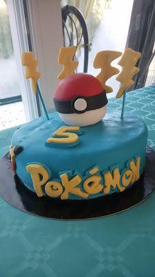 Peggy et ses petits plaisirs gourmands: Gâteau d'anniversaire Pokémon