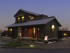 柏の和モダン住宅(外観夜).jpg (640×480)