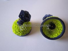 Free Form Quilling - Paper Quilling Jhumka (FAH196) (3)
