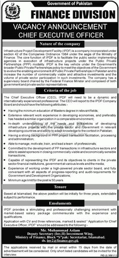 Job Opportunity In Concern Worldwide Hyderabad Daily Paperpk Jobs