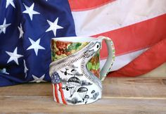 patriotic cup us army airborne coffee mug military by BottegaKrua