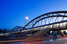 Another pic of the Cidade Nova Metro Station and Footbridge in Rio de Janeiro