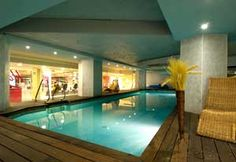 Fitness Swimming Pool at 5 star hotel: Husa Princesa Hotel. This hotel's address is: Princesa, 40 Madrid 28008 and have 423 rooms Madrid Hotels, Premier Hotel, Travel Checklist, At The Hotel, Travel And Leisure, Spain Travel, Luxury Homes, Swimming Pools, Europe