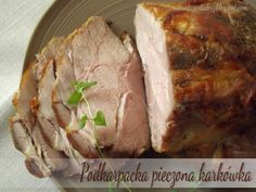 Jeżeli szukacie przepisu na miękką, soczystą karkówkę do obiadu lub smaczne domowe mięsko do kanapek, to dobrze trafiliście :) Mój prze... Polish Recipes, Polish Food, Smoking Meat, Pork Belly, Pork Recipes, Mashed Potatoes, Sausage, Turkey, Beef